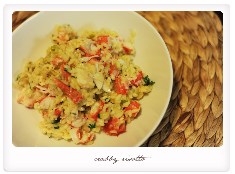 crabby risotto